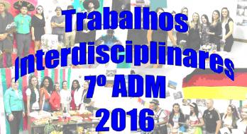 FOLDER Trabalhos interdisciplinares 2016