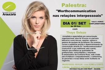 Palestra - Thays Beleze