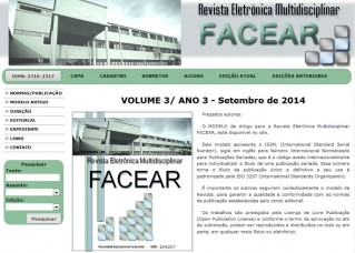 revista eletronica facear